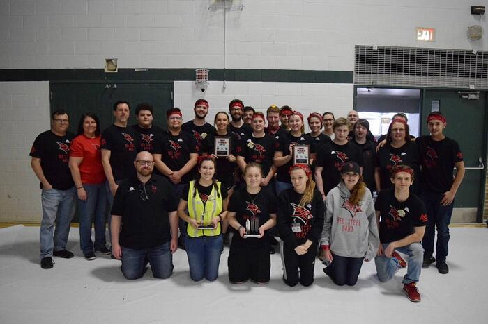 2018 First robotics team