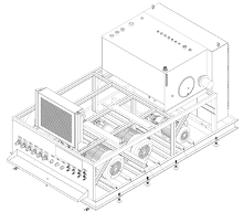 hydraulic system assembly 2