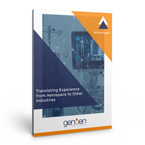 Translating Aerospace Experience Cover Mockup | Genuen