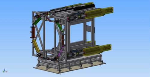 Thrust Reversing Actuator Test System