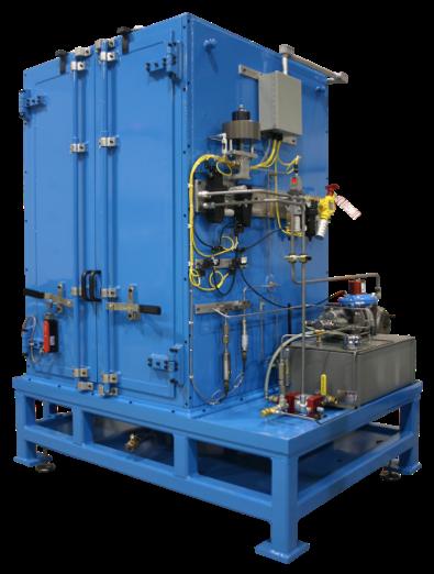 Figure 4 Hydrualic Filter Burst Test Stand