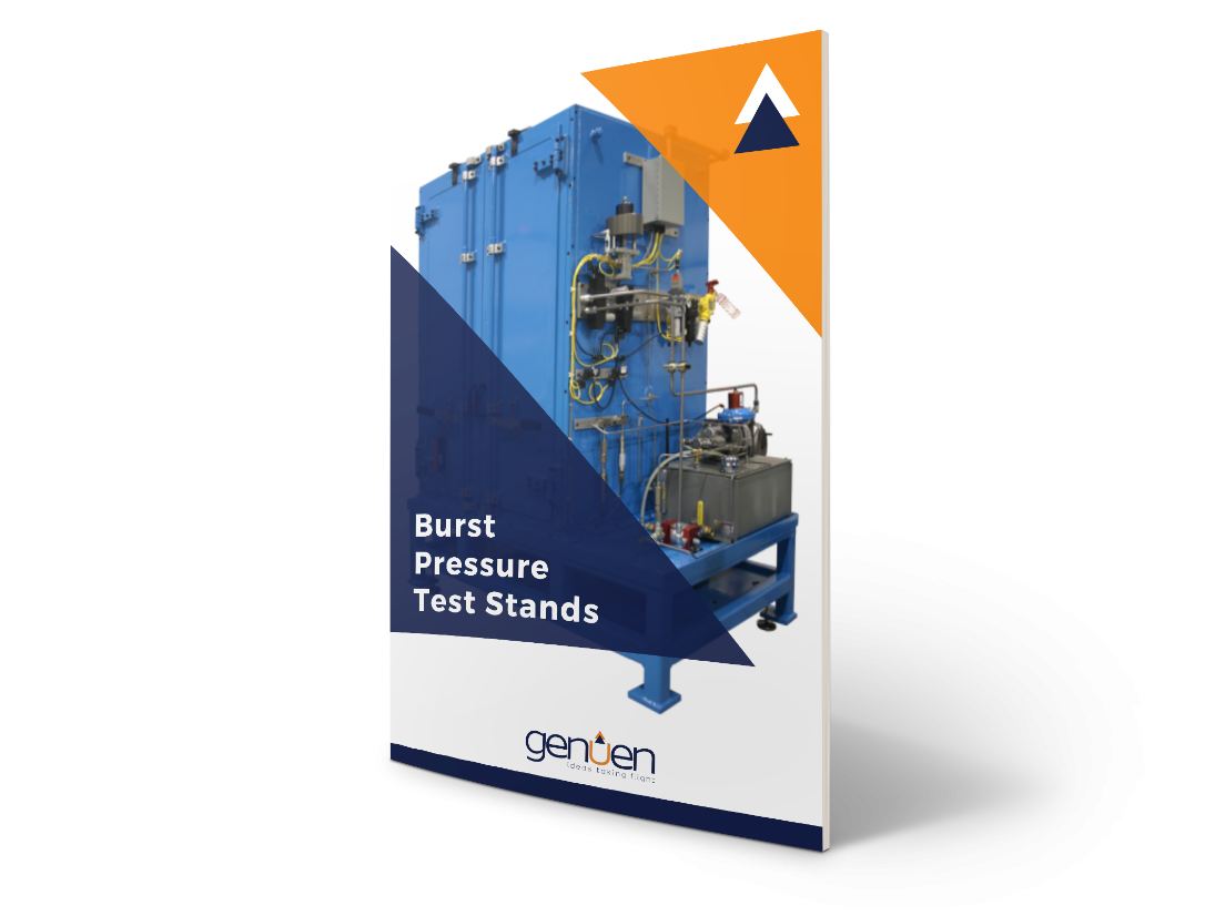 3D Burst Pressure Test Stands
