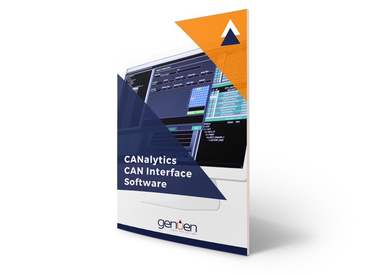 3D CANalytics CAN interface software